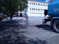 Hozat'ta temizlik çalışmaları sürüyor