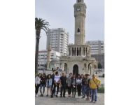 Ovacıklı gençler Berlinli gençlerle İzmir'de buluştu