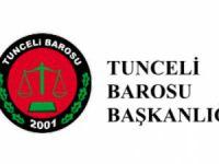Tunceli Barosu, AİHM'in kararına ilişkin açıklama yaptı