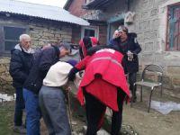 İhtiyaç sahiplerine kıyafet yardımı yapıldı