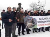 Doğaseverler avcılığı protesto etti