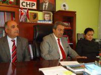 CHP'lilerden basın toplantısı