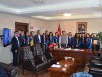 Hozat'ta öğrencilerden folklar dalında birincilik