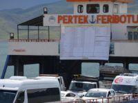 Pertek Belediyesi borç tablosunu astı