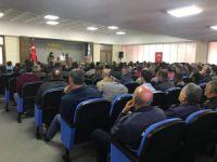 Belediye Başkanı Maçoğlu, personelle toplantı yaptı