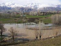 Ovacık'ta tarım arazileri su altında kaldı