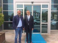 Başkan Maçoğlu'dan kurum ziyaretleri