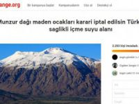 Change.org'da maden sahaları için imza kampanyası