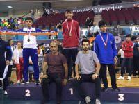 Wushu- Kung Fu şampiyonasında birincilik geldi