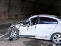 Pülümür'de kaza: 2 kişi yaralandı
