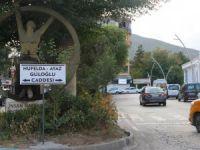 Ayaz ve Nupelda'nın ismi caddeye verildi