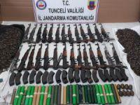 2 silah deposu imha edildi