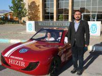 """Üniversite öğrencileri """"Hızır"""" adlı elektrikli araç üretti"""