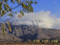 Munzur Dağları'na mevsimin ilk karı düştü