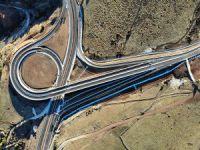 159 viraj kalktı, iki şehir arasındaki mesafe 67 kilometreye düştü