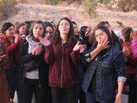Kadın öğrencilerden yurt protestosu