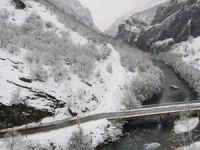 184 köy yolu kardan kapandı