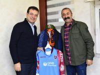 İmamoğlu, Başkan Maçoğlu'nu ziyaret etti
