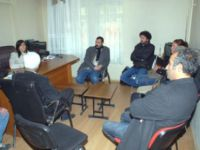 Tunceli Gazeteciler Derneğine Taziye Ziyaretleri