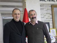 Beylikdüzü Belediye Başkanı Çalık'tan Maçoğlu'na ziyaret