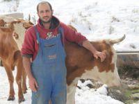 Süt üreticileri ve besiciler destek bekliyor VİDEO