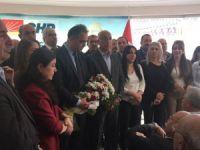 CHP İl başkanlığında devir teslim töreni yapıldı