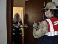 65 yaş üstü vatandaşların evlerine kahvaltı servisi