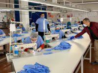 200 bin adet maske üretimine başlandı
