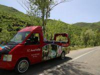 65 yaş üstü vatandaşlar tur otobüsüyle Munzur Vadisi'ni gezdi