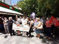 CHP kadın cinayetlerini protesto etti