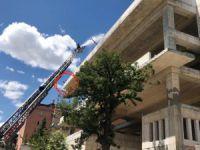 Dersim'de yangın VİDEO