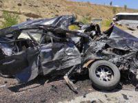 Dersim'de kaza: 1 ölü, biri bebek 5'i ağır 17 yaralı