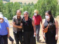 Suruç'ta yaşamını yitiren Çağdaş Aydın mezarı başında anıldı