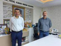 Belediye Başkanı Yılmaz'dan  Maçoğlu'na ziyaret