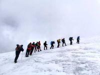 Dağcılarımız, Ağrı Dağı'na tırmanış gerçekleştirdi
