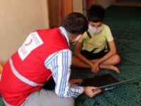 Mazgirt'te uzaktan eğitime destek