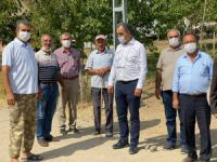 CHP İl Başkanı Çelik, köyleri gezdi