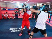 Kick-boks müsabakaları düzenlendi