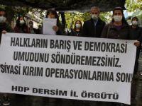 HDP'li  milletvekillerin tutuklanmaları protesto edildi