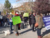 Dersimli kadınlar şiddete karşı alanlara çıktı