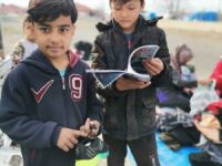 Gönüllü Temsilci ve Takipçilerinden Afgan kampına anlamlı yardım