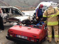Dinar Köprüsünde feci kaza: 2 kişi hayatını kaybetti