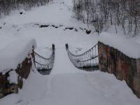 Ovacık'ta evlerin bile kara gömüldüğü ilçede yaşam