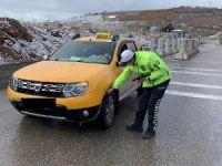 Trafik kurallarını ihlal eden 21 sürücüye ceza kesildi