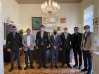 Milletvekili ve  Belediye Başkanlarından Tunç Soyer'e ziyaret