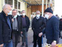 HDP'liler Ovacık esnafını ziyaret edip, Munzur Gözeleri'ne gitti