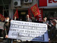 Emek Partisi Dersim İl Örgütü'nden zam tepkisi!