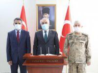 İçişleri Bakan Yardımcısı Ersoy ve Jandarma Genel Komutanı Çetin, Tunceli'de