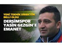 Dersimspor'un yeni teknik direktörü Yasin Gezgin oldu