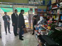 Milletvekili Polat Şaroğlu'ndan esnafa ziyaret